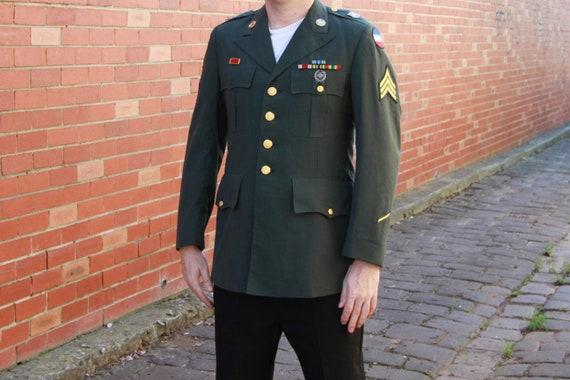 Vintage Sergeant's Army Jacket / Military / Army J