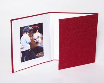 4x6 Linen Trifold Slip In Mats Triple Folio Triple Frame Etsy