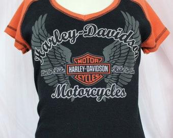 Womens Harley Davidson Shirts Etsy