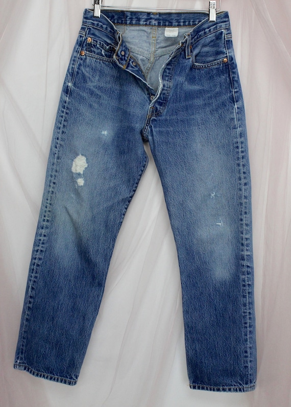 501 Button Fly Levi Jeans Waist 30""