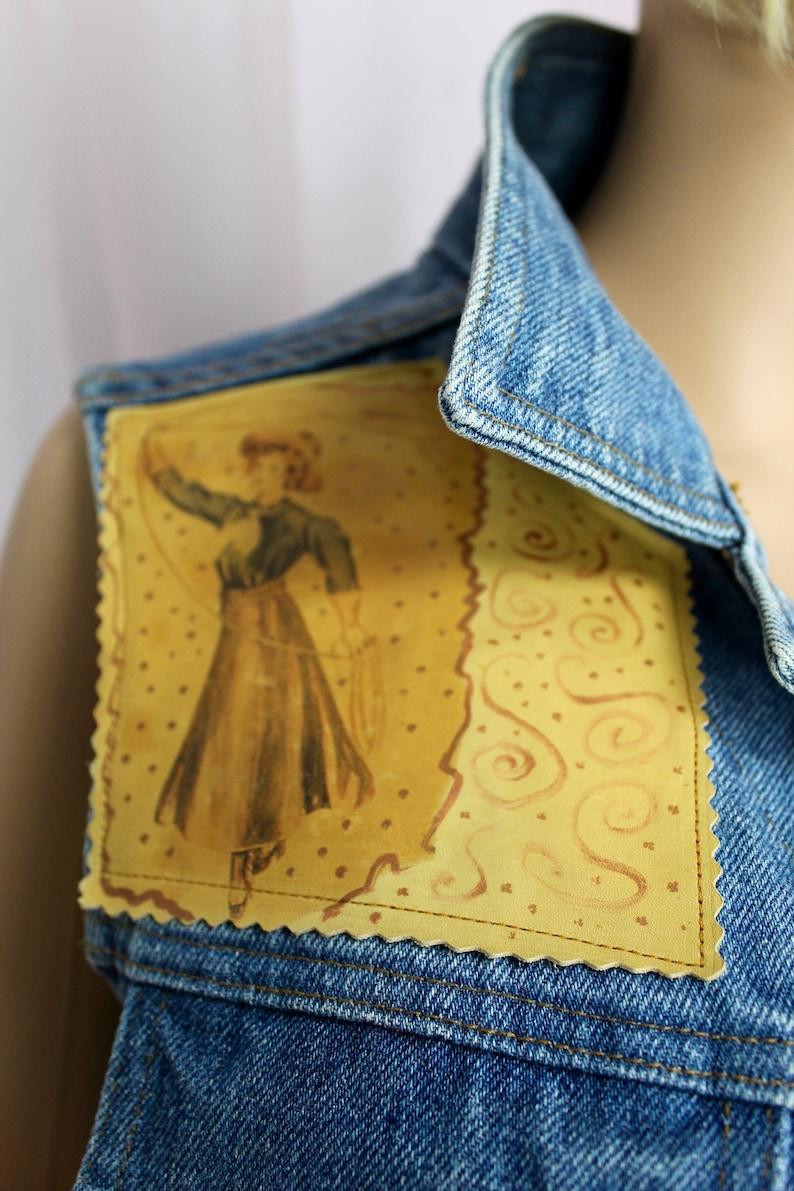 Pure West Cowboy Jean Vest