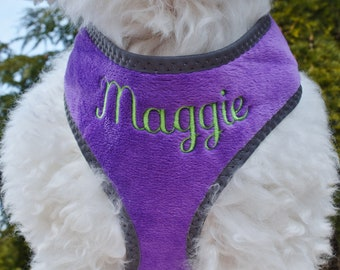 """Personalized DOG Harness Girl Boy 