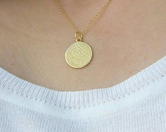 PHAISTOS DISC NECKLACE
