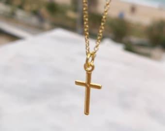 Dainty Cross Necklace
