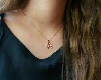 Tree of Life Necklace, Dainty Rose Gold Filled Necklace, Protection Pendant, Sister's Gift, Gift for bff