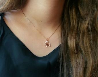 Zircon Life Tree Necklace