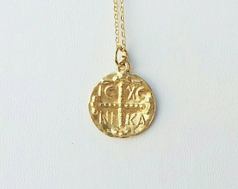 Gold Filled Christian (Constantinato) Necklace