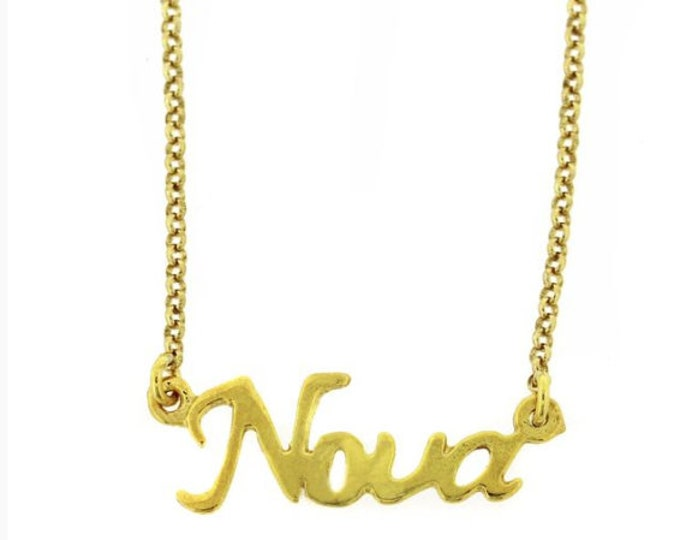 GOLD NONA NECKLACE