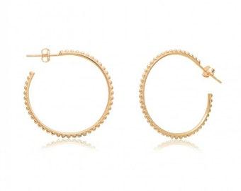 Large Hoop Earrings, Hoop Earrings 14k Gold Filled, Sterling Silver or Rose Gold Filled, 6cm, Chic Bijoux, Gold Earrings, Big Earrings