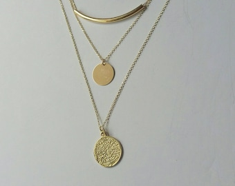 Layered Set Necklaces