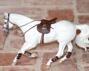 Saddle Set, Complete Jumping/GP Set for Traditional Breyer Model Horses 1:9