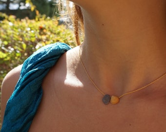 Stone & Shell Necklace