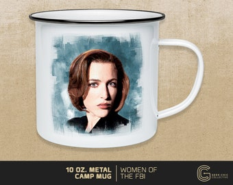 Women of the FBI: Dana Scully-inspired Camp Mug