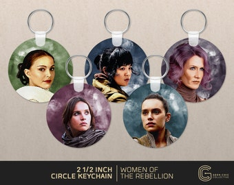 Women of The Rebellion: Star Wars-inspired Key Chain