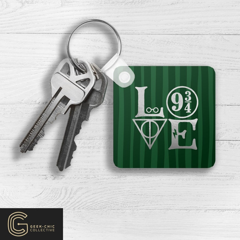 LOVE HP-inspired Key Chain: House of Cunning image 0