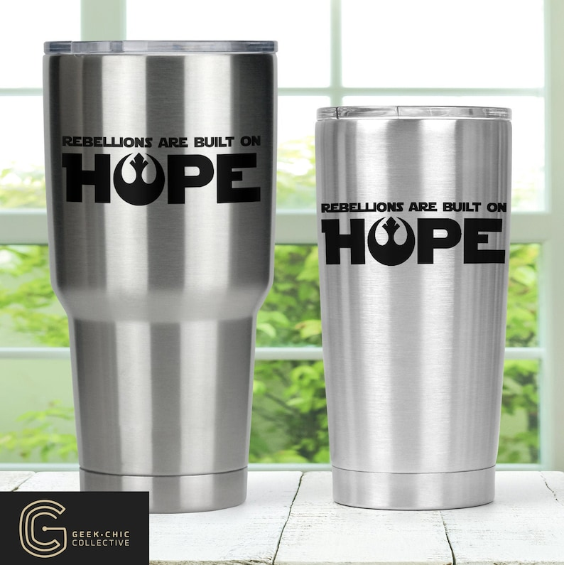 Star Wars-inspired Hope Stainless Steel Thermos with lid image 0
