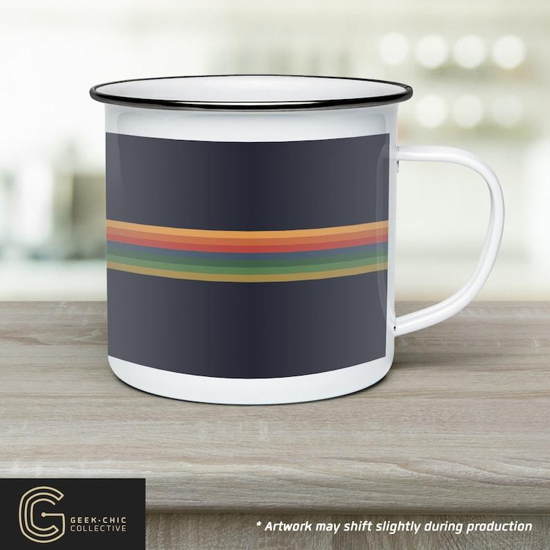 13th Doctor-inspired Camp Mug image 0