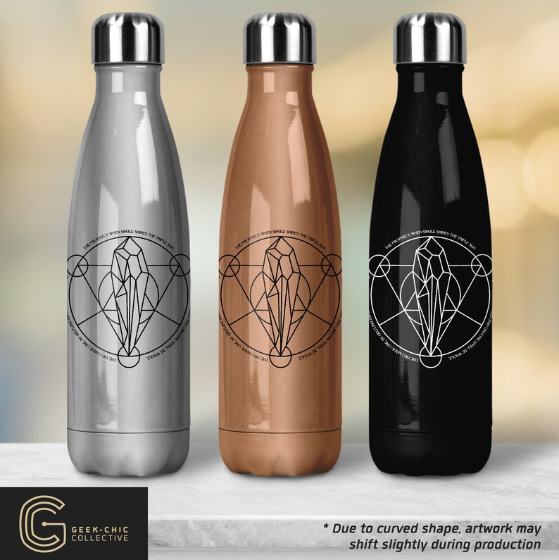 Dark Crystal-inspired Peristyle Water Bottle  Prophecy image 0