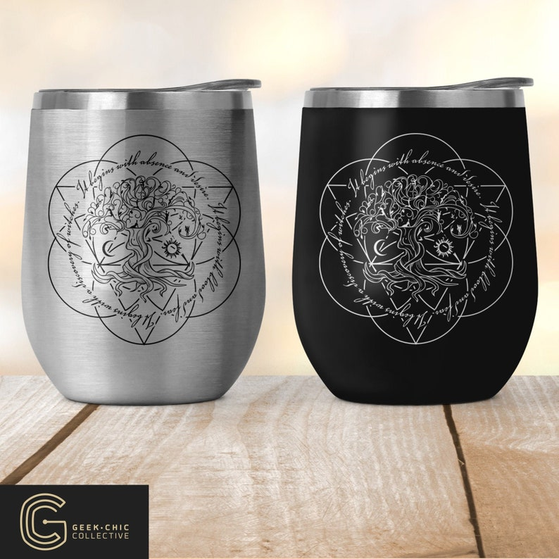 ADOW Book-inspired Stainless Steel Wine Tumbler with lid image 0
