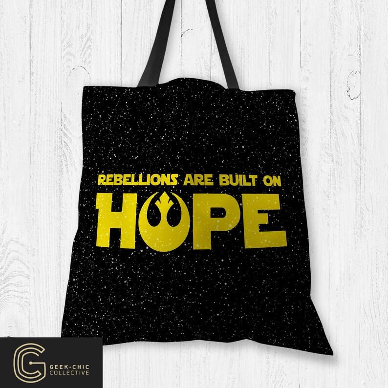 Star Wars-inspired Hope Tote Bag image 0