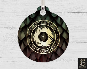 Mother of Dragons: GOT-inspired Pet Tag