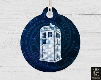 Tardis Doctor Who-inspired Pet Tag