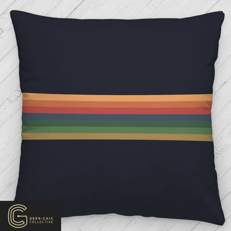 13th Doctor-Inspired Throw Pillow image 0