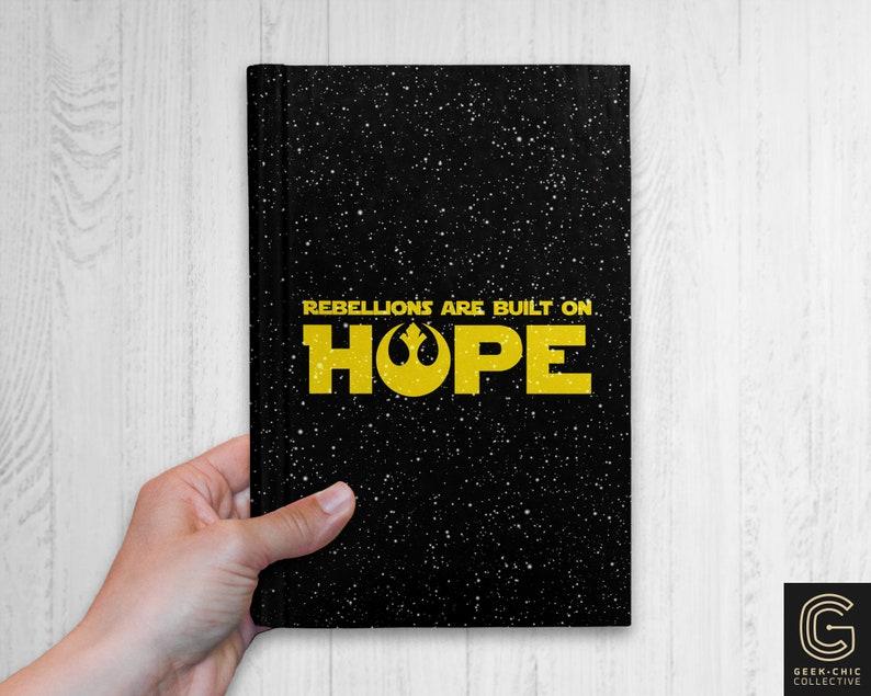 Star Wars-inspired Hope Hardcover Journal image 0