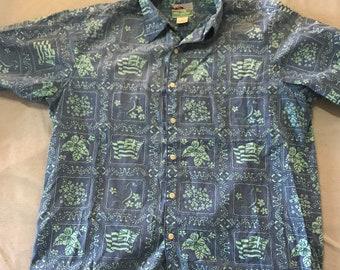 a4e1da883 Vintage Reyn Spooner Shirt Size Medium