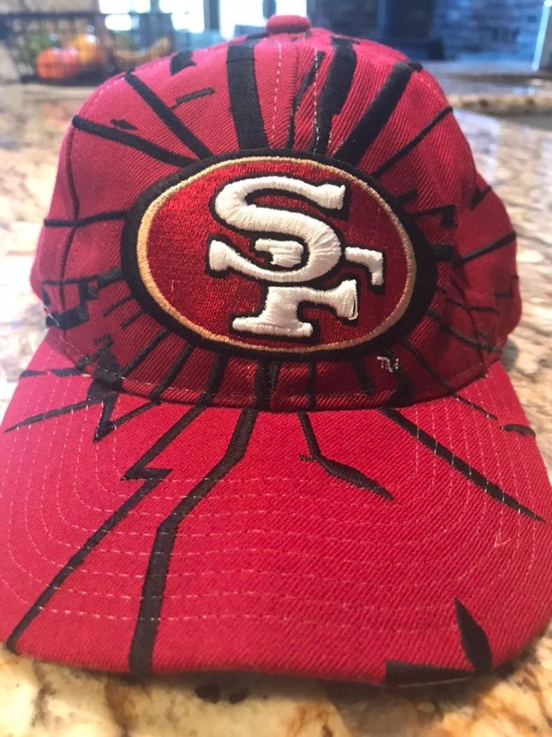 263b6cf5219 Vintage Starter Pro Line San Francisco 49ers Shockwave