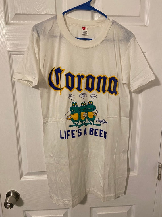 Vintage 1970s Corona Beer T Shirt Size Large/XL
