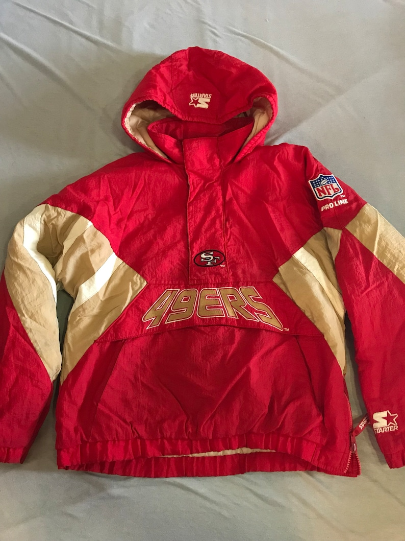 e8b4e3db Vintage San Francisco 49ers Starter Jacket Size Boys Large