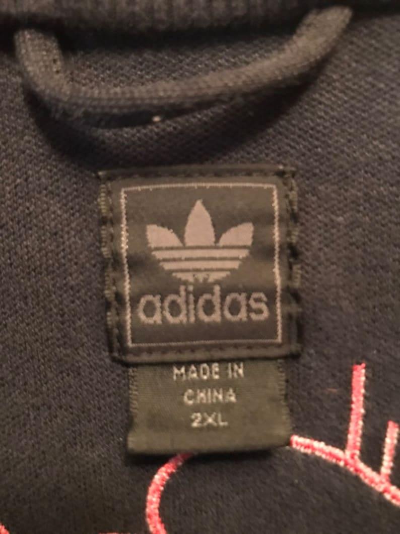 Vintage Adidas Barcelona Track Jacket Size XXL