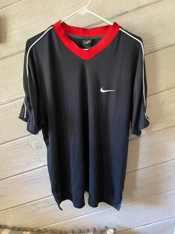 Vintage Nike Agassi Jersey Size Large