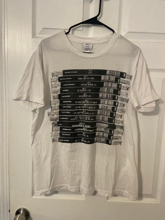 Jay-Z 4:44 Tour T Shirt Size Large