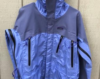 Vintage Patagonia Stretch Gravity Snowboard Jacket Size Womens Medium