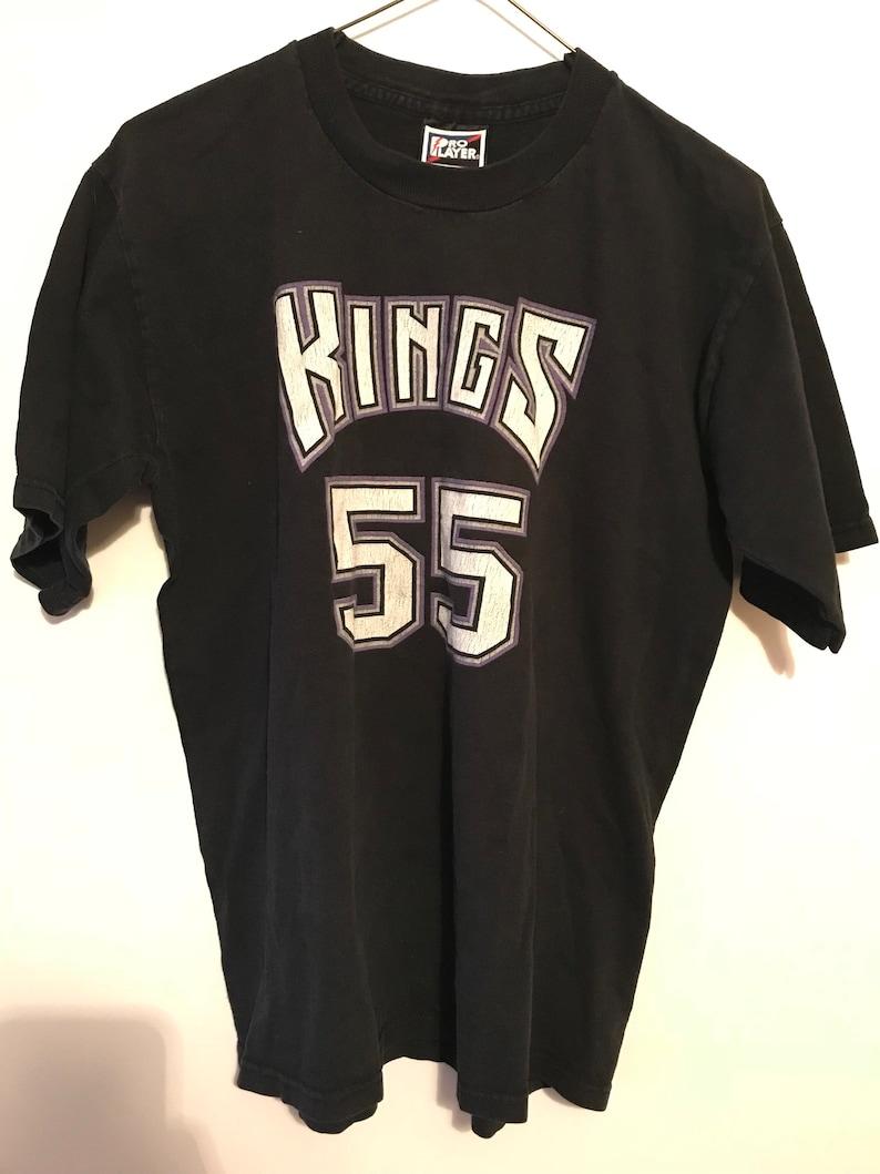 wholesale dealer 8529b ef880 Vintage Sacramento Kings Jason Williams T Shirt Jersey Size Youth 16/20