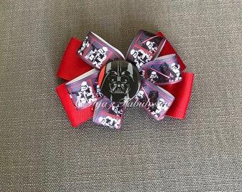 Star Wars Inspired Darth Vader Hair Bow