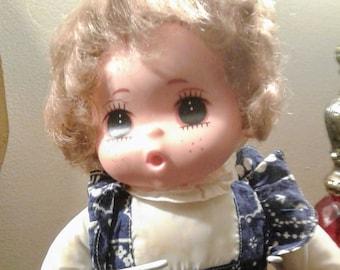 Vintage Big Eye Doll Hong Kong