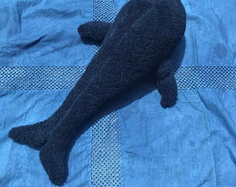 Whale doll handmade/homemade