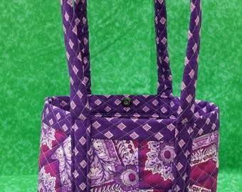 Purple hand bag /Purse