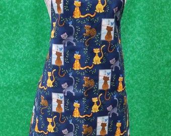 Cat small adult apron