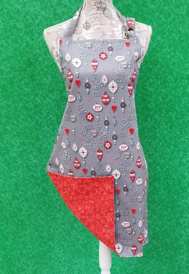 Christmas Ornament   Adult apron