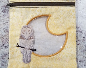owl moon snack bag