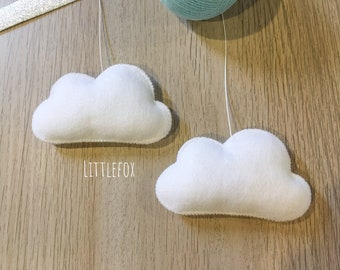 White cloud for mobile
