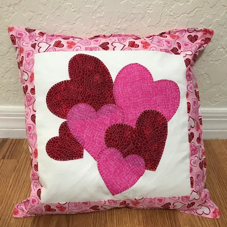 Valentine heart pillow image 0