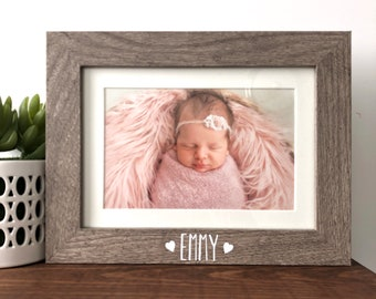 Girls Boys Name Frame Personalised Handmade KIDS Playing Card Picture