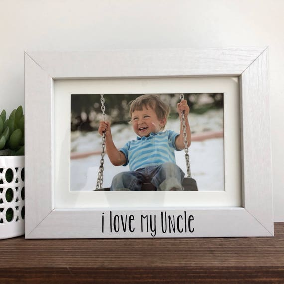 I love my Uncle Picture Frame // Uncle Picture Frame | Etsy