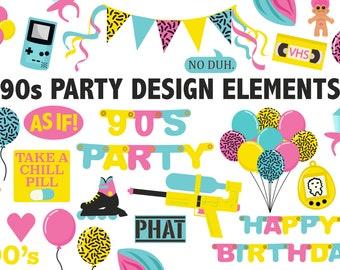 90s birthday | Etsy