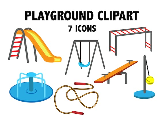 Nature Clipart Playground Home - Playground Clipart, HD Png Download ,  Transparent Png Image - PNGitem